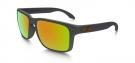 HOLBROOK Sonnenbrille dark grey/fire iridium polarized