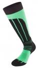 SKIING 2.0 Socken 2015 black/lime