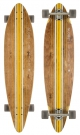 PINNER Longboard 2015 brown/yellow
