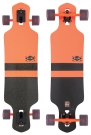 GEMINON Longboard 2015 fluoro orange