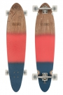 PINNER CLASSIC Longboard 2015 red/navy spray
