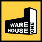 Warehouse One Logo-Sticker 5x5cm gelb