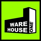 Warehouse One Logo-Sticker 5x5cm green