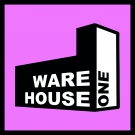 Warehouse One Logo-Sticker 5x5cm purple