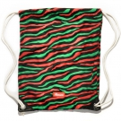 STRIPED CALLED QUEST Tasche 2014 black/red/green