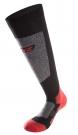SKIING 5.0 Socken 2015 black/grey/red