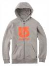 BOYS LOGO VERTICAL Zip Hoodie 2015 grey heather