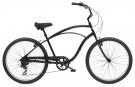 CRUISER 7D Fahrrad black satin