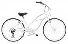 CRUISER 7D Fahrrad pearl white