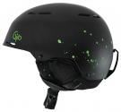 COMBYN Helm 2015 matte black splatter