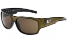 FORTUNE Sonnenbrille metal green/brown