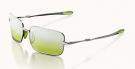 SAINT Sonnenbrille chrome/green gradient mirror