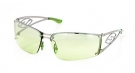 BOOKIE Sonnenbrille chrome/green gradient mirror
