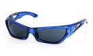 FOLSOM Sonnenbrille crystal blue/grey