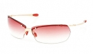 STUDIO Sonnenbrille shiny gold/burgundy gradient