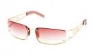 SAROS Sonnenbrille shiny gold/burgundy gradient