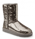 CLASSIC SHORT SPARKLES Stiefel 2015 silver