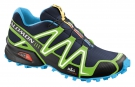 SPEEDCROSS 3 Schuh 2014 lake/fluo green/fluo blue
