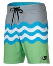 JORDY FREAK Boardshort 2014 green aop