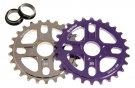 PLUS MANTA CNC ALU Kettenblatt purple