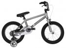 """BASE 16"""" BMX Bike 2015 silver"""