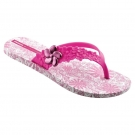 GB FLOWERS THONG Sandale 2012 white/pink