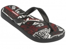 TEMAS VI KIDS Sandale black/red/white