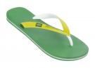 BRAZIL BICOLOR Sandale 2014 green/white/yellow