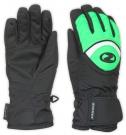 LARGO GTX KIDS Handschuh 2015 black/signal green