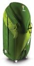 POWDER 26L Zip-On Pack 2015 lime/green inkl. Helmnetz