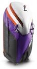 POWDER 26L Zip-On Pack 2015 purple/orange inkl. Helmnetz
