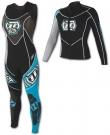 APEX RACE JANE Full Suit 2013 turquoise