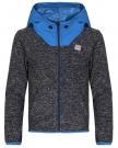 CONTROL Fleece Hoodie 2015 blue graphite marl