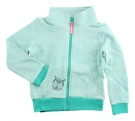 LIVING Zip Sweater 2013 pool green