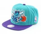 CHARLOTTE HORNETS LOGO XL Snapback Cap 2014 blue/purple