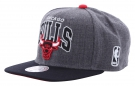 CHICAGO BULLS ARCH Snapback Cap 2015 dark grey