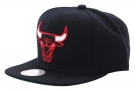 CHICAGO BULLS SOLID CROWN Snapback Cap 2015 black
