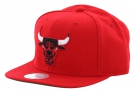 CHICAGO BULLS SOLID CROWN Snapback Cap 2015 red