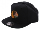 CHICAGO BLACKHAWKS LOGO Basic Fitted Cap 2014 black