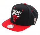 CHICAGO BULLS LOGO Snapback Cap 2014 black/red