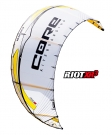 RIOT XR3 Kite white/yellow