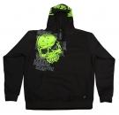 CORPO SKULL Hoodie 2013 black/green