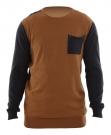 DISTRESS Sweater 2014 tobacco