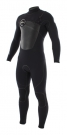 CYPHER FUSEFLEX 3.5/3/2 CHEST ZIP Full Suit black/green/sunlight