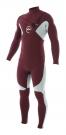 CYPHER 4/3 CHEST ZIP Full Suit cardinal