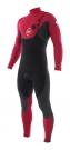 CYPHER 4/3 CHEST ZIP Full Suit cabernet