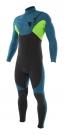 CYPHER 4/3 CHEST ZIP Full Suit grey/blue