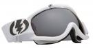 EG1S Schneebrille gloss white/silver chrome