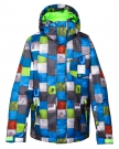MISSION PRINTED YOUTH Jacke 2015 huff blue