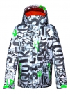 MISSION PRINTED YOUTH Jacke 2015 the line white